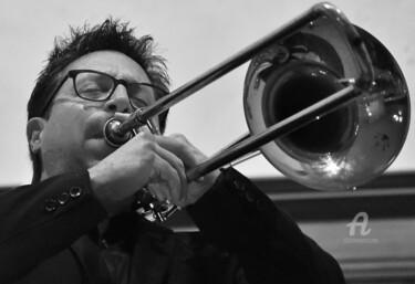 Michaël au trombone