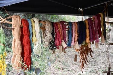 coloration de laine à l'ancienne